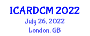 International Conference on Aerial Robotics, Design, Control and Manipulation (ICARDCM) July 26, 2022 - London, United Kingdom