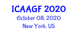 International Conference on Aeroponics and Aeroponically Grown Food (ICAAGF) October 08, 2020 - New York, United States