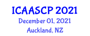 International Conference on Aerospace Avionics Systems and Code Production (ICAASCP) December 01, 2021 - Auckland, New Zealand