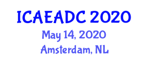 International Conference on Aerospace Engineering and Active Dynamic Control (ICAEADC) May 14, 2020 - Amsterdam, Netherlands