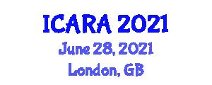 International Conference on Aerospace Robotics and Applications (ICARA) June 28, 2021 - London, United Kingdom