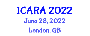 International Conference on Aerospace Robotics and Applications (ICARA) June 28, 2022 - London, United Kingdom