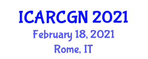 International Conference on Aerospace Robotics, Controls, Guidance and Navigation (ICARCGN) February 18, 2021 - Rome, Italy
