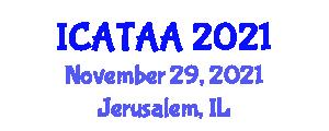 International Conference on Aerospace Technologies and Advanced Aerodynamics (ICATAA) November 29, 2021 - Jerusalem, Israel