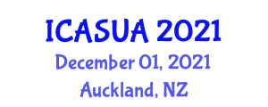 International Conference on African Studies and Urban Africa (ICASUA) December 01, 2021 - Auckland, New Zealand
