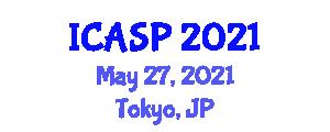 International Conference on Aggression and Social Psychology (ICASP) May 27, 2021 - Tokyo, Japan