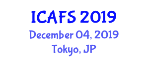 International Conference on Agricultural and Food Sciences (ICAFS) December 04, 2019 - Tokyo, Japan