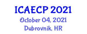 International Conference on Agricultural Engineering and Crop Production (ICAECP) October 04, 2021 - Dubrovnik, Croatia
