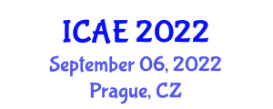 International Conference on Agricultural Engineering (ICAE) September 06, 2022 - Prague, Czechia