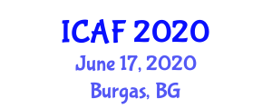 International Conference on Agriculture and Food (ICAF) June 17, 2020 - Burgas, Bulgaria