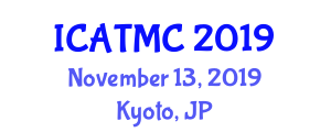 International Conference on Air Traffic Management and Communication (ICATMC) November 13, 2019 - Kyoto, Japan