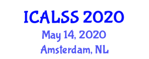 International Conference on American Literature and Short Stories (ICALSS) May 14, 2020 - Amsterdam, Netherlands