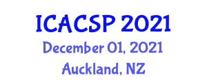 International Conference on Analog Circuits and Signal Processing (ICACSP) December 01, 2021 - Auckland, New Zealand