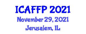 International Conference on Analytic Feminism and Feminist Philosophers (ICAFFP) November 29, 2021 - Jerusalem, Israel