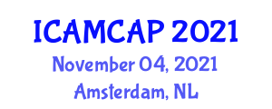 International Conference on Analytical and Microbiological Characterization of Antimicrobial Peptides (ICAMCAP) November 04, 2021 - Amsterdam, Netherlands