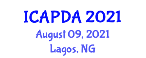 International Conference on Anatomy and Physiology of Domestic Animals (ICAPDA) August 09, 2021 - Lagos, Nigeria