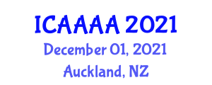 International Conference on Andalusi Architecture and Almohad Architecture (ICAAAA) December 01, 2021 - Auckland, New Zealand
