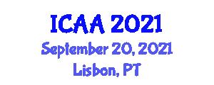 International Conference on Animal Agriculture (ICAA) September 20, 2021 - Lisbon, Portugal