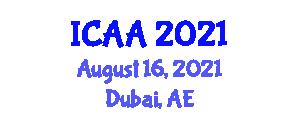 International Conference on Animal Anatomy (ICAA) August 16, 2021 - Dubai, United Arab Emirates