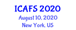 International Conference on Animal and Food Sciences (ICAFS) August 10, 2020 - New York, United States