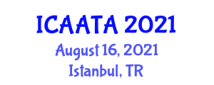 International Conference on Animal Assisted Therapy and Activities (ICAATA) August 16, 2021 - Istanbul, Turkey
