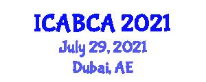 International Conference on Animal Breeding and Companion Animals (ICABCA) July 29, 2021 - Dubai, United Arab Emirates