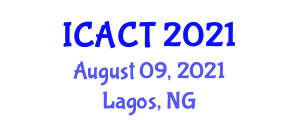 International Conference on Animal Cell Technologies (ICACT) August 09, 2021 - Lagos, Nigeria