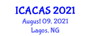 International Conference on Animal Cognition and Animal Suffering (ICACAS) August 09, 2021 - Lagos, Nigeria