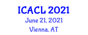 International Conference on Animal Cognition and Learning (ICACL) June 21, 2021 - Vienna, Austria