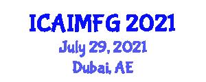 International Conference on Animal Immuno, Molecular and Functional Genetics (ICAIMFG) July 29, 2021 - Dubai, United Arab Emirates
