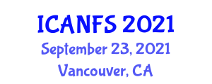 International Conference on Animal Nutrition and Feed Supplements (ICANFS) September 23, 2021 - Vancouver, Canada