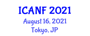 International Conference on Animal Nutrition and Feeding (ICANF) August 16, 2021 - Tokyo, Japan