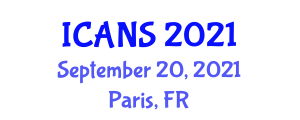International Conference on Animal Nutrition and Sustainability (ICANS) September 20, 2021 - Paris, France