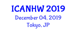 International Conference on Animal Nutrition, Health and Welfare (ICANHW) December 04, 2019 - Tokyo, Japan