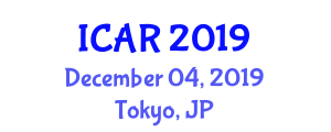 International Conference on Animal Radiology (ICAR) December 04, 2019 - Tokyo, Japan