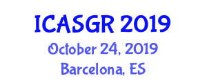 International Conference on Animal Sciences and Genetic Research (ICASGR) October 24, 2019 - Barcelona, Spain