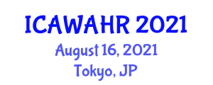 International Conference on Animal Welfare and Animal-Human Relations (ICAWAHR) August 16, 2021 - Tokyo, Japan