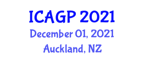International Conference on Animation and Game Programming (ICAGP) December 01, 2021 - Auckland, New Zealand