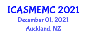 International Conference on Application of Sorption Materials in Environment and Material Characterization (ICASMEMC) December 01, 2021 - Auckland, New Zealand