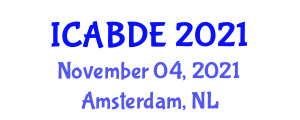 International Conference on Applications of Business Decision Engineering (ICABDE) November 04, 2021 - Amsterdam, Netherlands