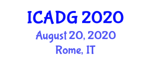 International Conference on Applications of Digital Geography (ICADG) August 20, 2020 - Rome, Italy