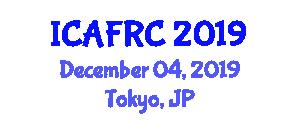 International Conference on Applications of Fiber Reinforced Concrete (ICAFRC) December 04, 2019 - Tokyo, Japan