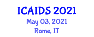 International Conference on Applications of Information and Data Security (ICAIDS) May 03, 2021 - Rome, Italy