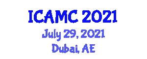 International Conference on Applications of Mathematical Cryptology (ICAMC) July 29, 2021 - Dubai, United Arab Emirates