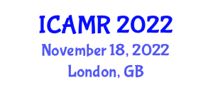 International Conference on Applications of Medical Robotics (ICAMR) November 18, 2022 - London, United Kingdom