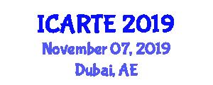 International Conference on Applications of Rail Transportation Engineering (ICARTE) November 07, 2019 - Dubai, United Arab Emirates