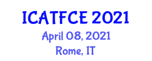 International Conference on Applications of Textile Fibers in Civil Engineering (ICATFCE) April 08, 2021 - Rome, Italy