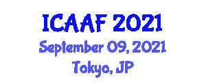 International Conference on Applied Animal Feeding (ICAAF) September 09, 2021 - Tokyo, Japan