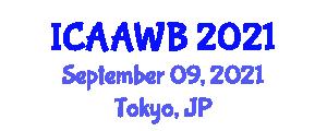 International Conference on Applied Animal Welfare and Behavior (ICAAWB) September 09, 2021 - Tokyo, Japan