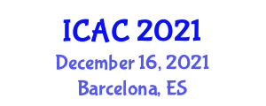 International Conference on Applied Cryptography (ICAC) December 16, 2021 - Barcelona, Spain